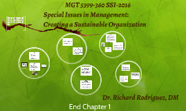 MGT 5399-Special Issues in Management