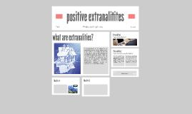 positive extranalitites