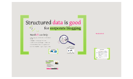 Structured Data and Semantic Seo for the business world