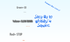 Step Up to Writing/4 Square Review