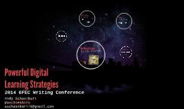 Powerful Digital Learning Strategies
