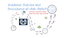 Copy of Academics at Utah State
