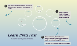 Copie de Learn Prezi Fast