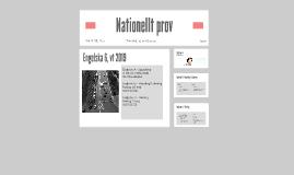 Nationellt prov - Eng 6