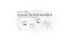 Zonas Residenciles
