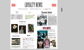 LOYALTY NEWS