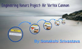 Engineering Honors Project: Air Vortex Cannon
