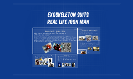 Exoskeleton Suits
