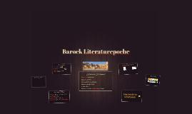 Barock Literaturepoche
