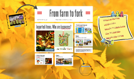 From farm to fork by Ran