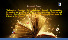 "Copy of ""Enhancing Reading Comprehension through Metacognitive Strat"