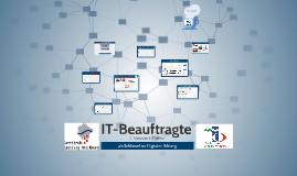 IT-Beauftragte 2. Netzwerktreffen