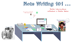 Copy of Updated Note Writing- Intro