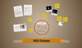 BIS Debate