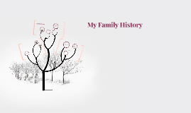 Copy of My Family History