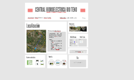 CENTRAL HIDROELECTRICA RIO TENO