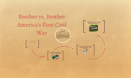 Brother vs. Brother America's First Civil War