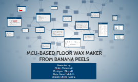 MCU-BASED FLOOR WAX MAKER FROM BANANA PEELS despro2