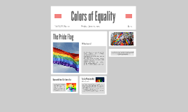 Colors of Equality