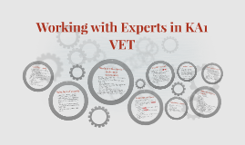 Work with Experts in KA1