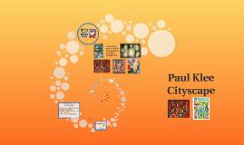 Paul Klee Cityscape