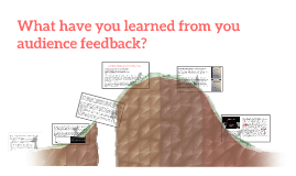 what have you learned from you audience feedback?