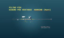 Filtro FIR (Hanning)