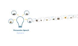Persuasive Speech Organization