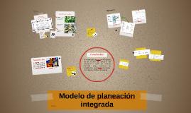 Modelo de planeación integrada