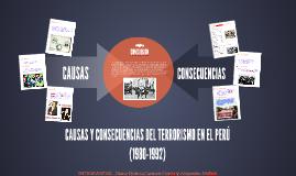 Copy of CAUSAS Y CONSECUENCIAS DEL TERRORISMO