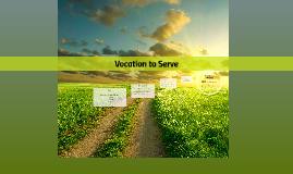 Vocation to Serve