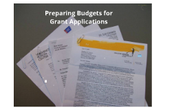 Budgets for Grant Writers