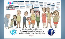 Uso de medios sociales en el Programa Educativo Masivo de la