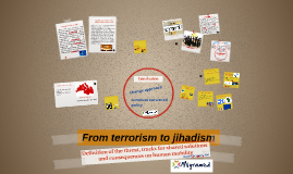 From terrorism to jihadism
