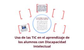 La inclusión de las TIC en alumnos con discapacidad intelectual
