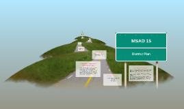 MSAD 15 District Plan