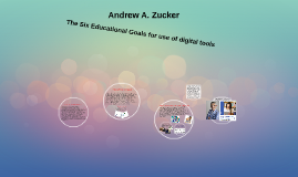The Six Educational Goals for use of digital tools