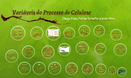 Variáveis do Processo de Celulose