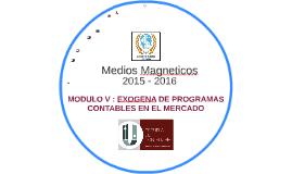 MODULO VEXOGENA DE PROGRAMAS CONTABLES EN EL MERCADO 2016