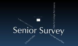 Senior Survey 2010
