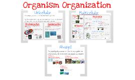 AP Bio- Physiology 1: Organism Organization