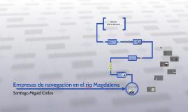 Empresas de navegación en el rio Magdalena