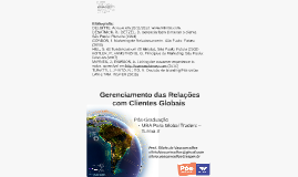 Gerenciamento das Relações com Clientes Globais