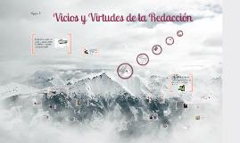Vicios y Virtudes de la Redacción