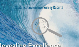 SeaCrest Governance Survey 2013