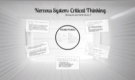 Nervous System: Critical Thinking