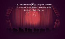 Copy of ALP Level 5 Film Festival