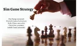 MKTG 3118 - Sim Game Strategy