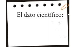 El dato científico