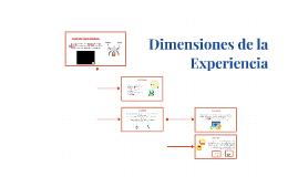 Dimensiones de la Experiencia